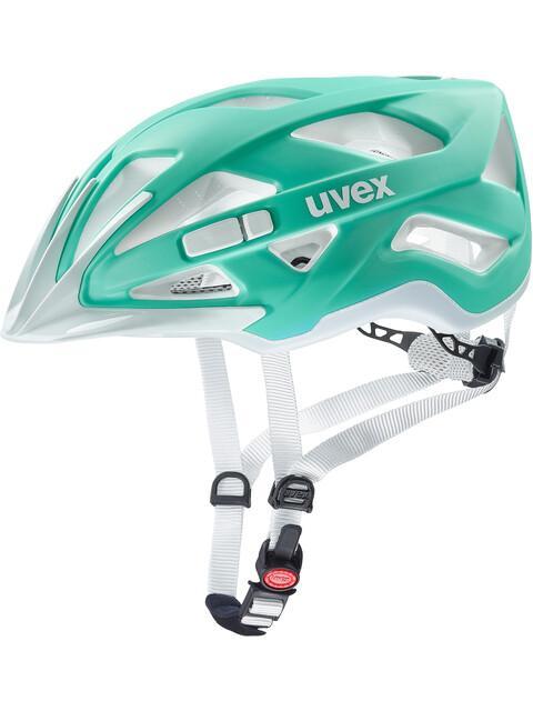 UVEX Active CC Cykelhjelm hvid/petroleumsgrøn